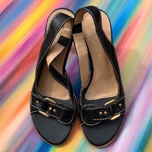 Franco Sarto Black Heels size 7 GUC